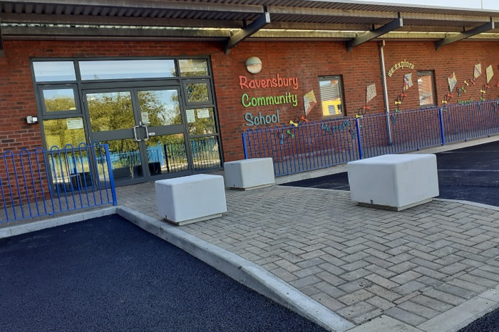 School Entrance Manchester
