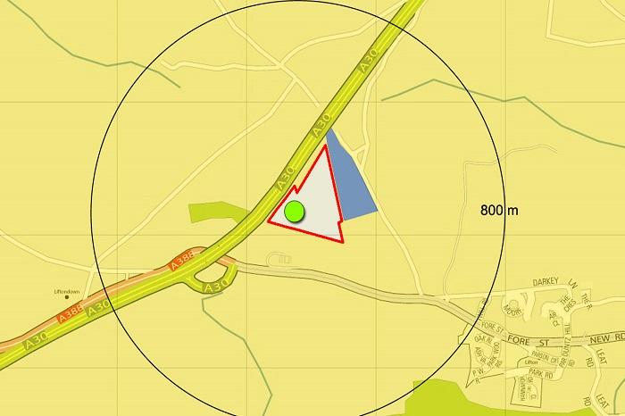 Solar Farm Location Plan